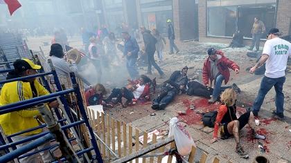 APTOPIX Boston Marathon-Explosions