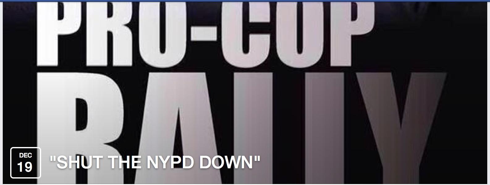 shut nypd down