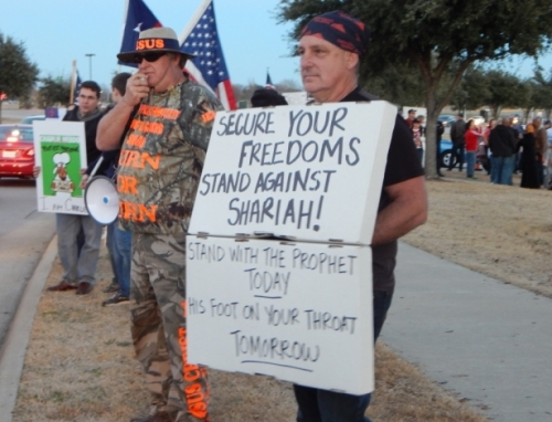 two stand-with-the-prophet-against-hate-and-terror-protest