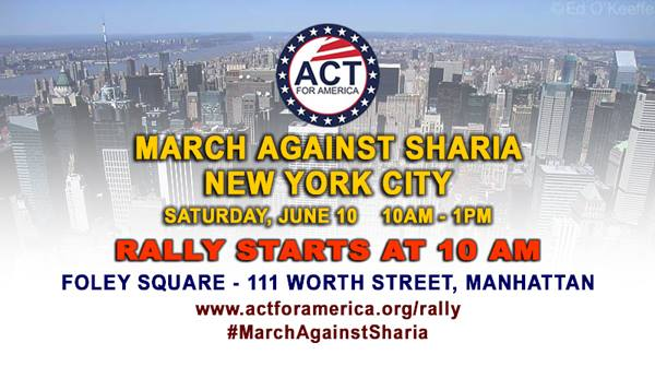Patriots March Against Sharia