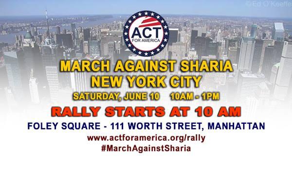 Patriots March Against Sharia