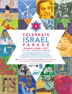 Celebrate Israel Parade 2017 – Protests Amidst the Happiness