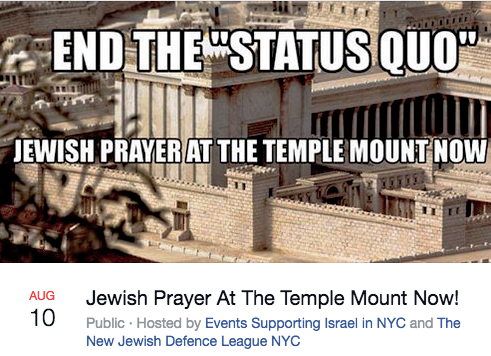 Rally for Jewish Prayer Upsets Israeli Consulate